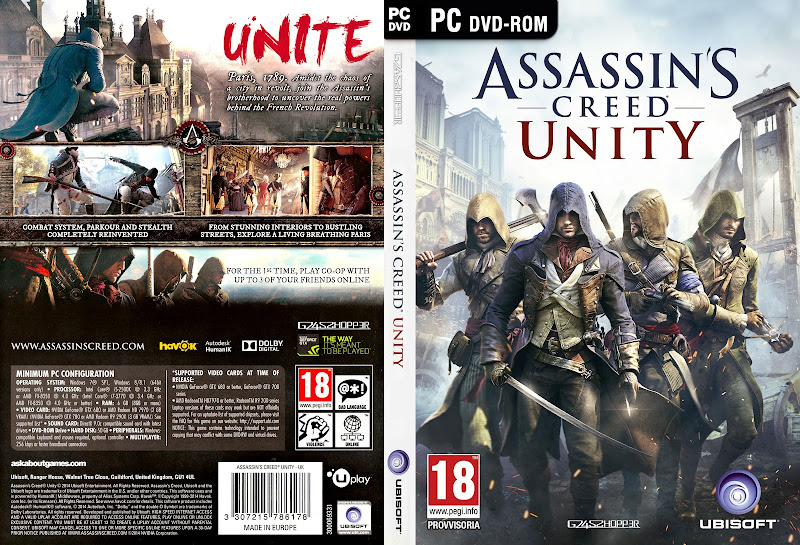 Capa Assassins Creed Unity PC
