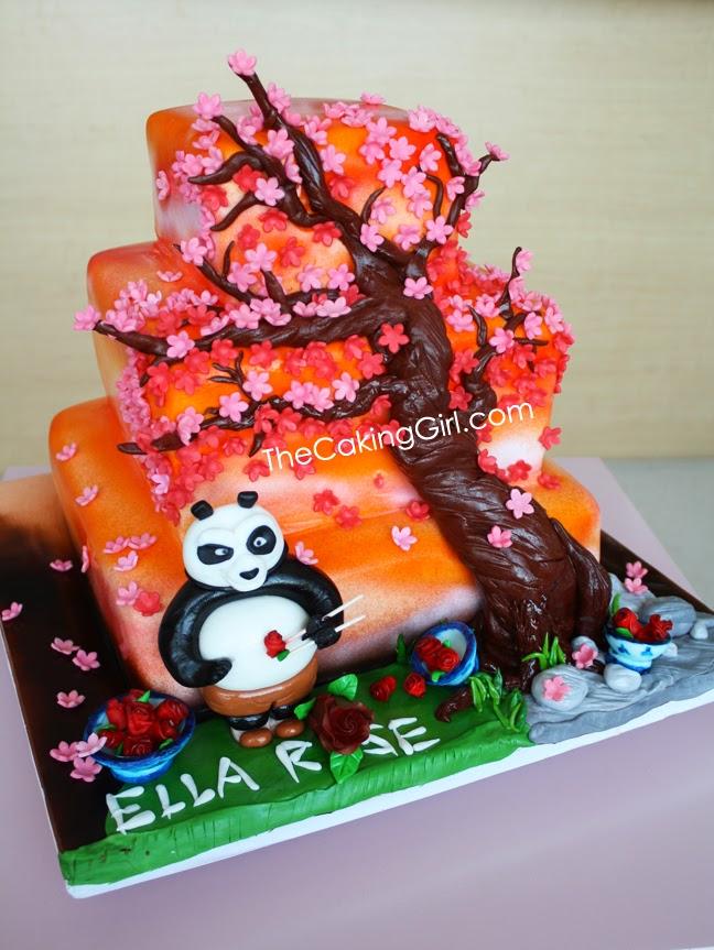 Thecakinggirl Kung Fu Panda Cake