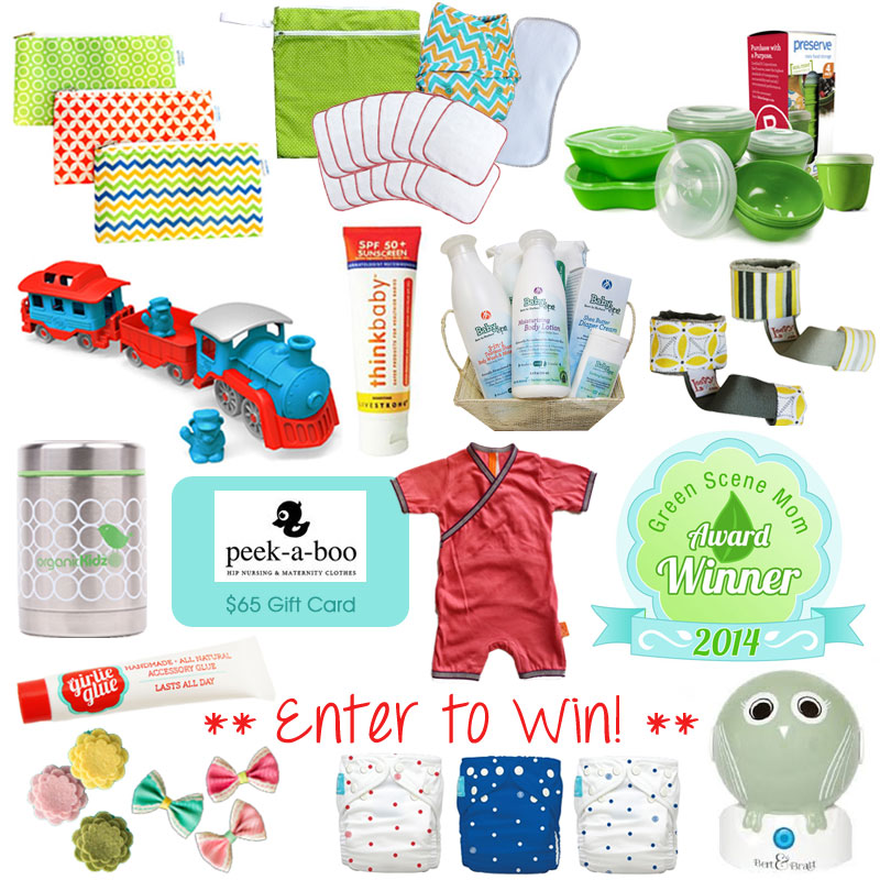 Green Scene Mom's Summer Awards Giveaway!