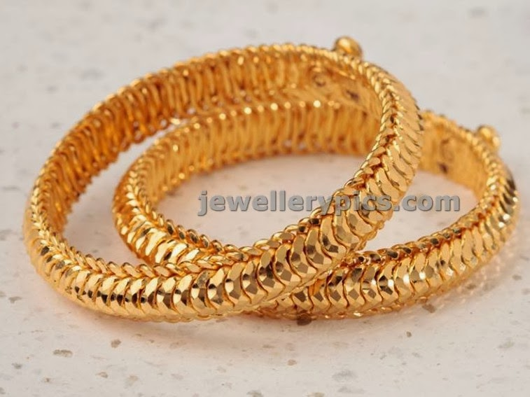 solid indin gold bangles