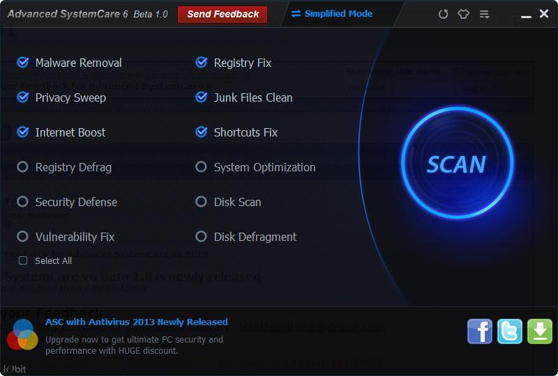 WatFile.com Download Free Advanced SystemCare Pro 6 Key & Patch | Cracks 007