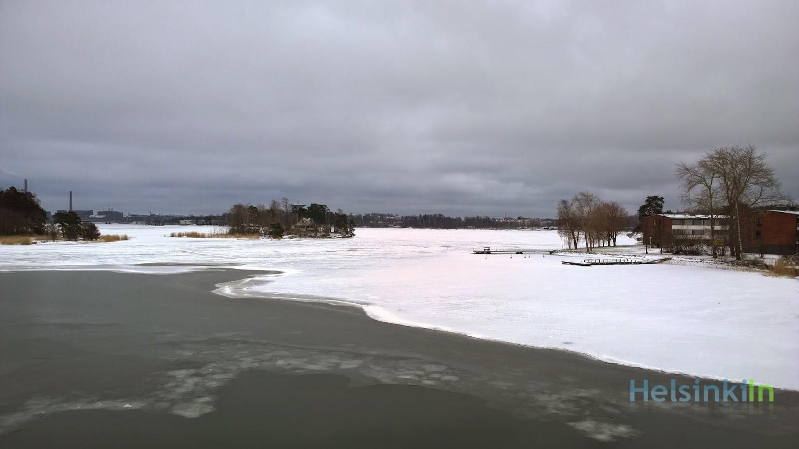 Seurasaarenselkä in January