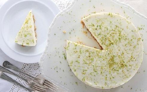 Torta mousse de limon