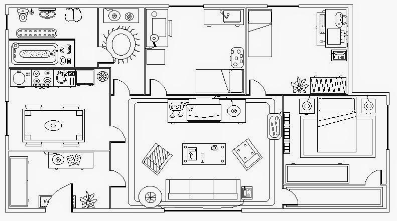 Expresi n gr fica unidad iv introducci n al dibujo for Como leer planos arquitectonicos pdf