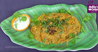 Vegetable Biryani in Tamil   Mallika Badrinath Recipes