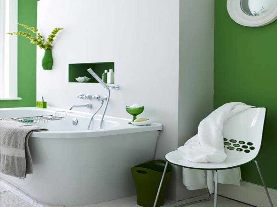 Decorating Bathroom Pleasing Of Green Bathroom Decorating Ideas Pictures