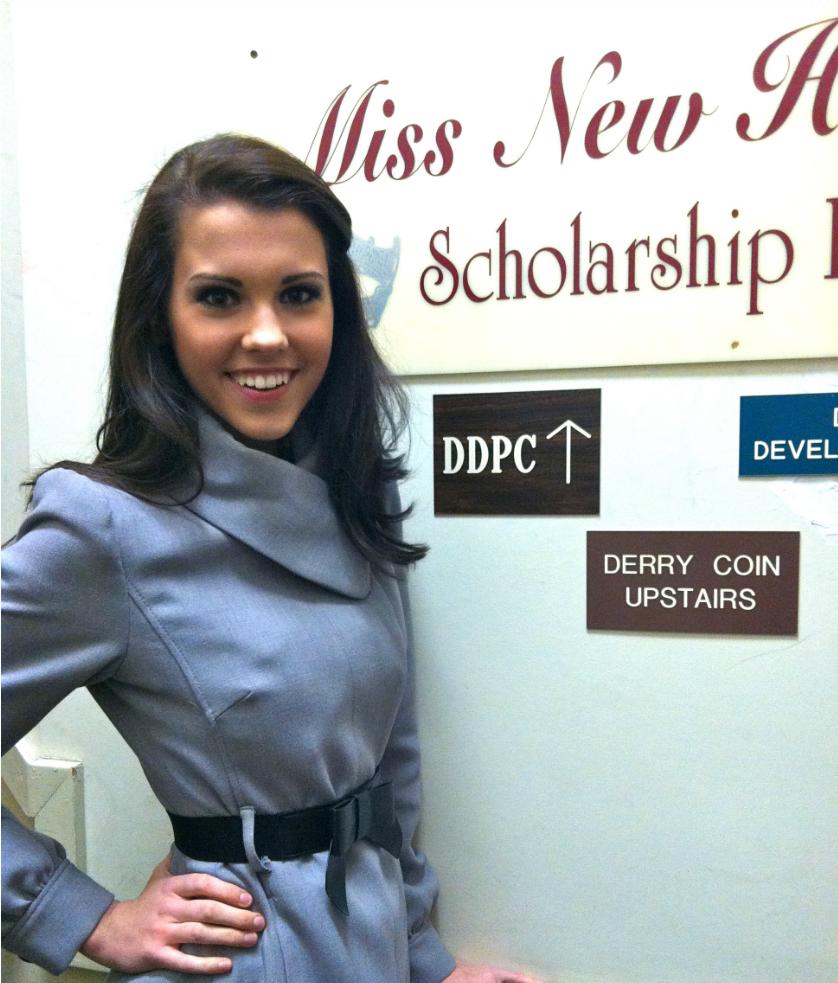 Eileen Kelley Crowned Miss New Hampshire's Outstanding Teen 2012