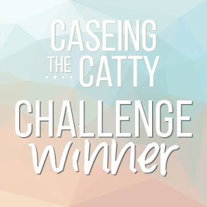 I was a Challenge Winner at CASEing The Catty!