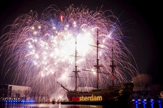 Celebraciones del año nuevo en el mundo