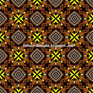 geometric pattern for fabric designing and textile