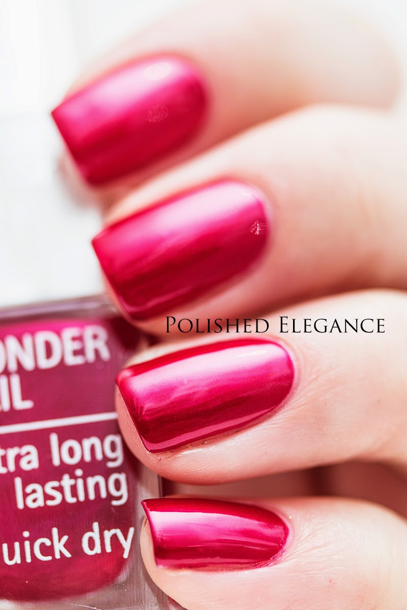 IsaDora - Passionate swatch - Holiday 2014 Mesmerizing collection swatches review