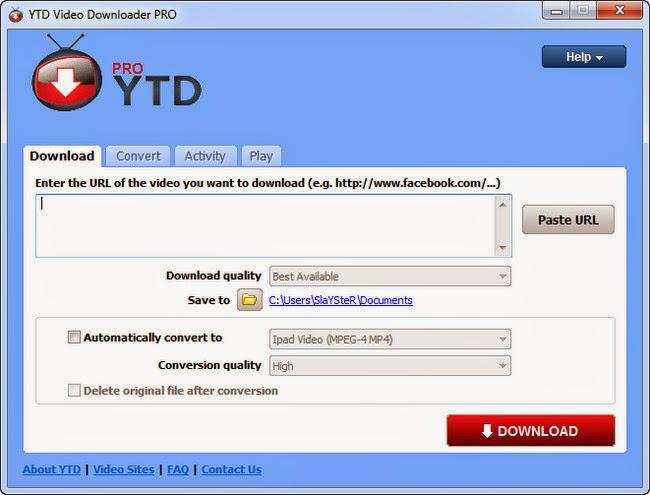 YouTube Downloader Pro 4.8.9.0.8 screenshot by www.ifub.net
