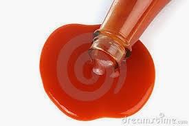 elakkan sos tomato terlalu banyak dalam hidangan