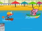 Plajda Tekne Savaşı Oyunu