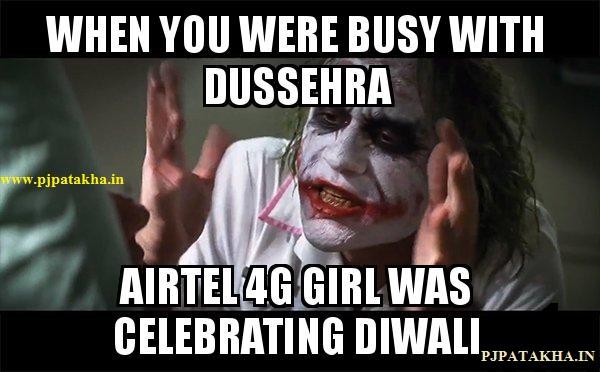 Airtel 4G jokes