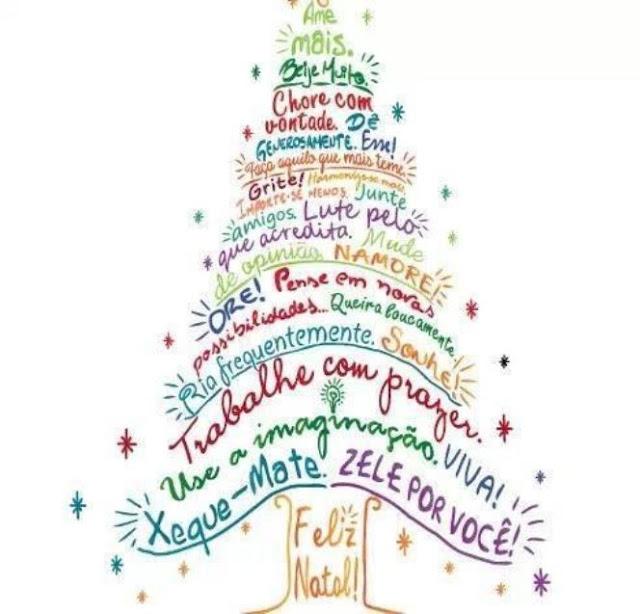 Nossos sinceros votos de Natal!