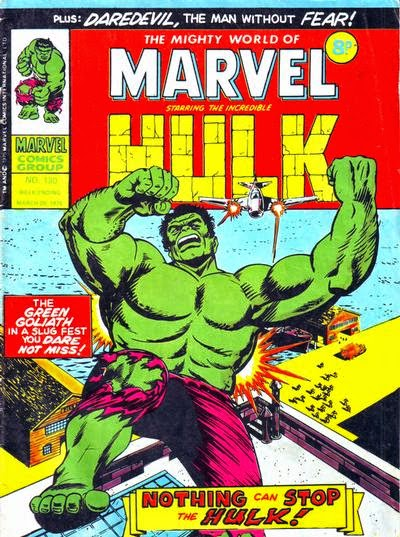 Mighty World of Marvel #180, Hulk