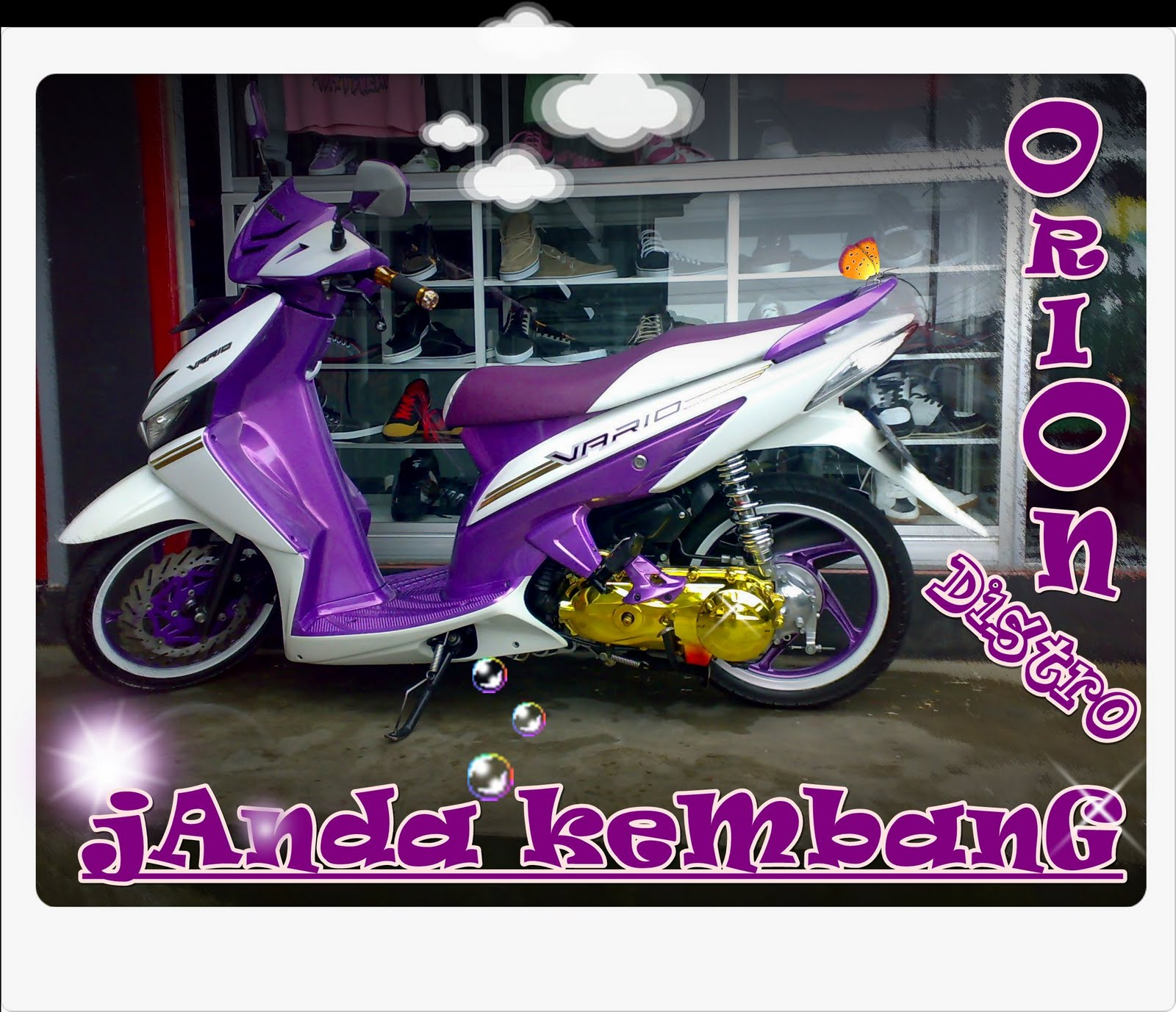 motor modifikasi indonesia