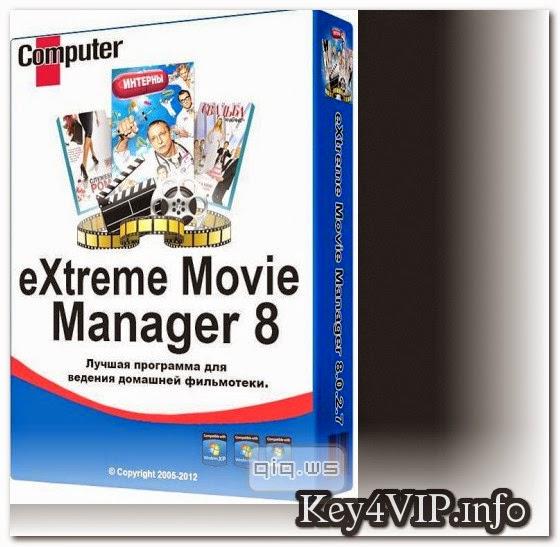Extreme Movie Manager v8.3.3 Full Key,Phần mềm quản lý kho phim của bạn