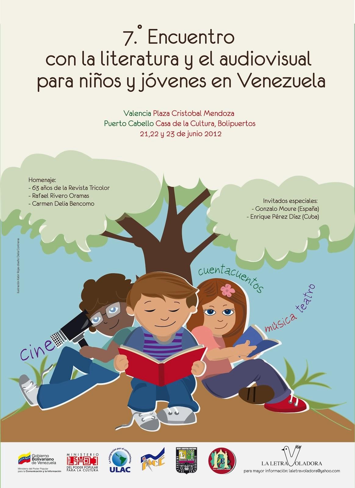 7mo Encuentro con la Literatura y el Audiovisual para niños y jóvenes en Venezuela.
