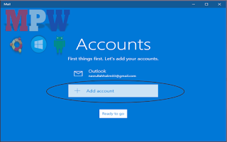add account email