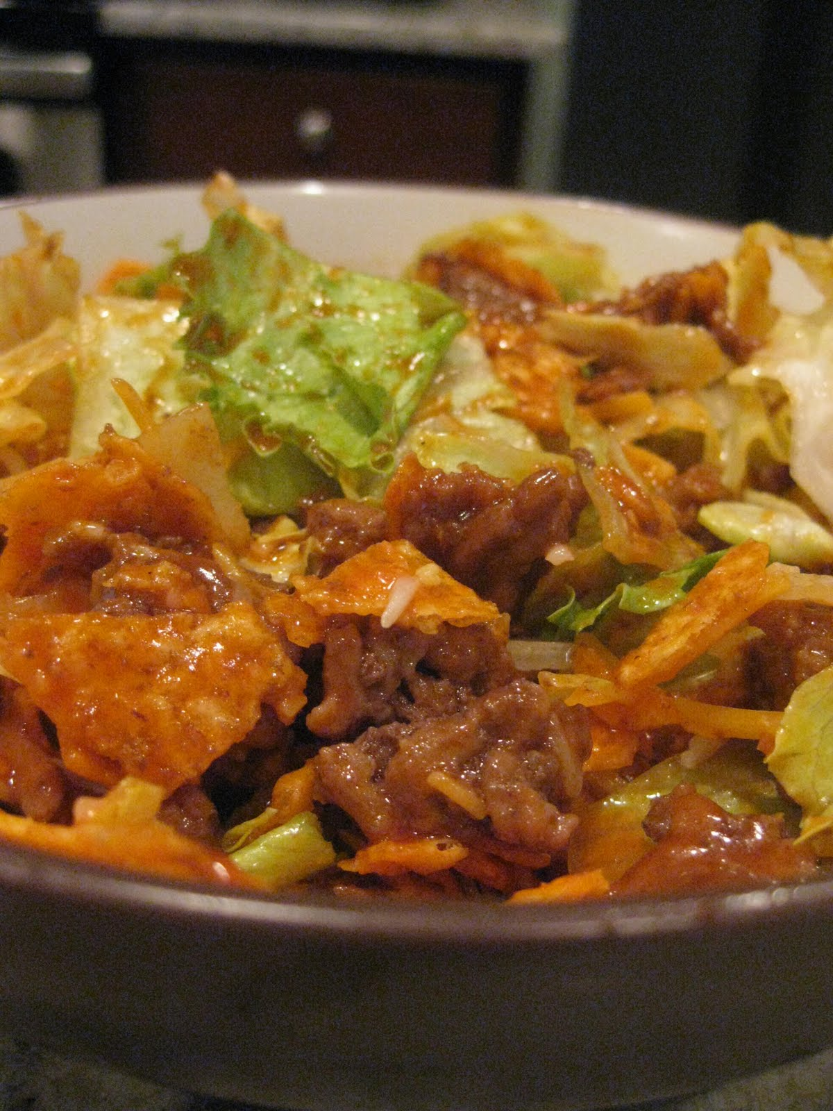 Taco Salad (adapted from Food Network )