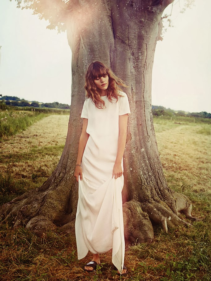 Freja Beha by Cass Bird for Vogue UK - January 2014