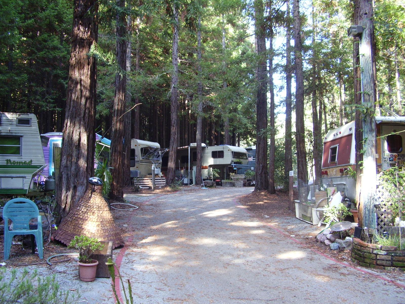 It's a Co-op: UCSC Trailer/Camper Park, Santa Cruz