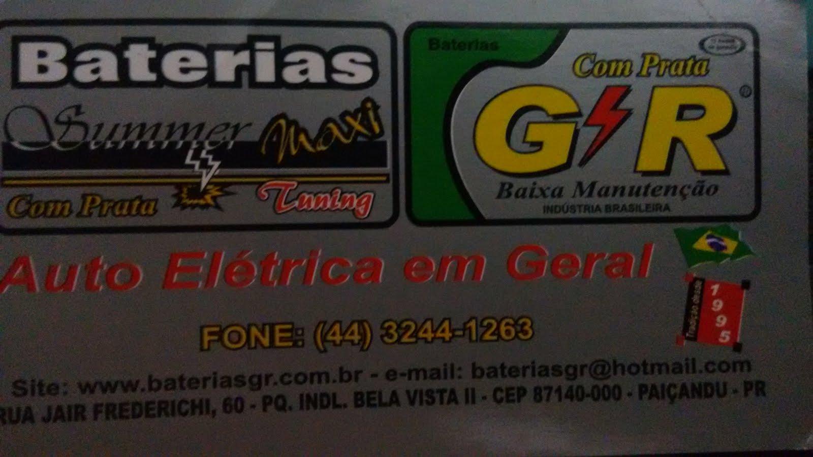 BATERIAS  G.R