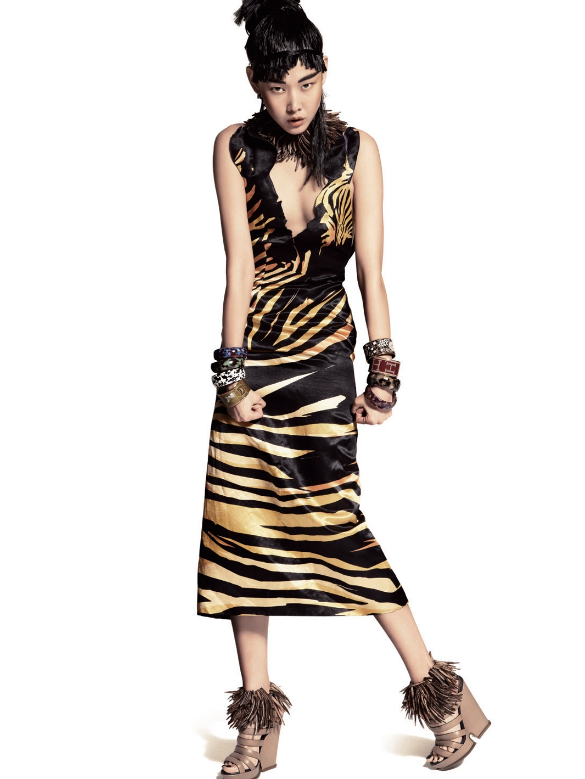 Editorial Tribal Chic