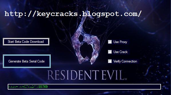 download keygen resident evil 6 pc