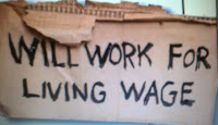 No one should have to work for less than it costs to live.
