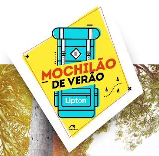 Participar da promoção Mochilão de Verão Lipton