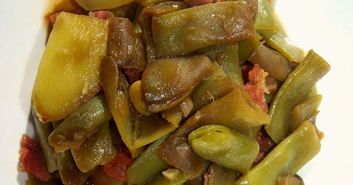 Jud as verdes con jam n y salsa de soja olla gm d 4pp - Judias verdes en olla express ...