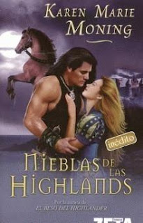 novela romantica Nieblas de las Highlands