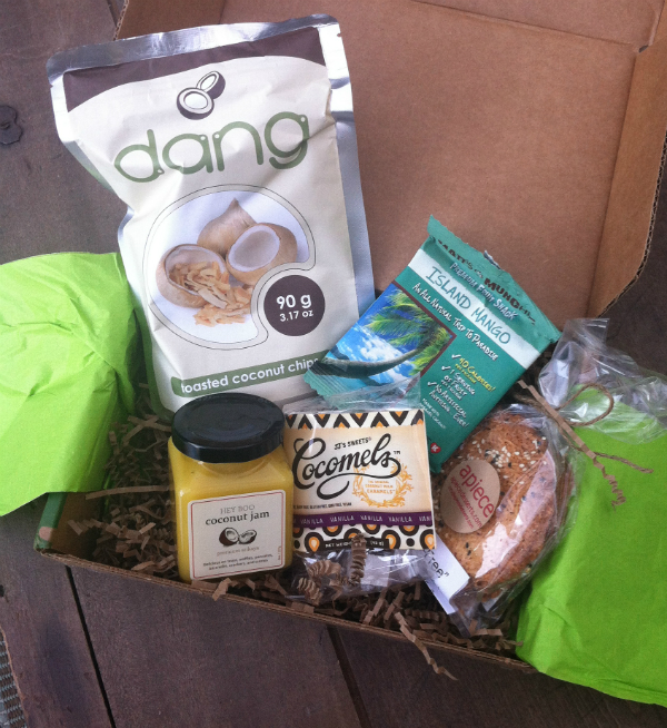 Coconut Tasting Box - Foodzie Review August 2012 - Plus $10 Coupon!