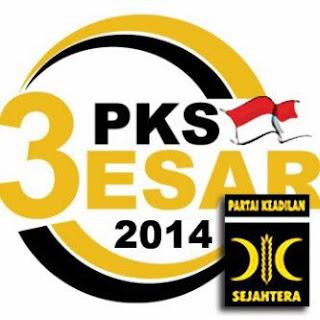 Nomor urut PKS Nomor 3 untuk 3 Besar