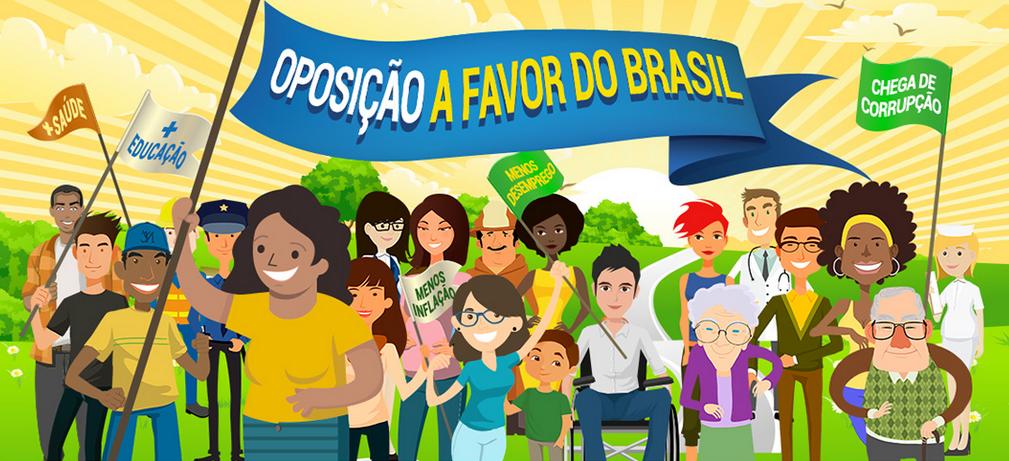 OPOSIÇÃO A FAVOR DO BRASIL