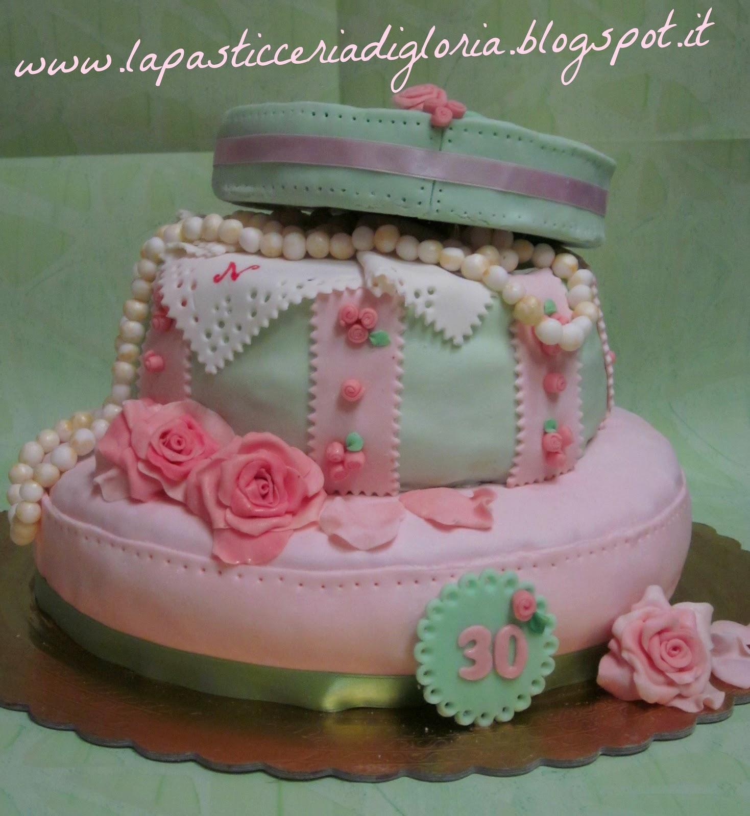 La pasticceria di gloria prima torta a due piani for 1 1 piani a 2 piani