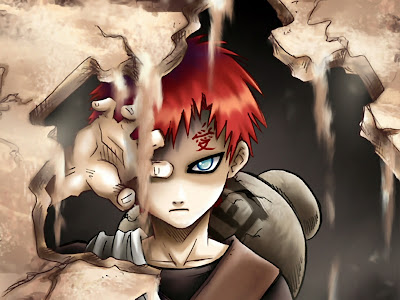 Mengenal tokoh Garaa dalam anime Naruto