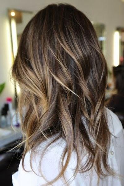 ombré haarkleur bruin