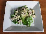Shrimp and Papaya Salad in Avocado