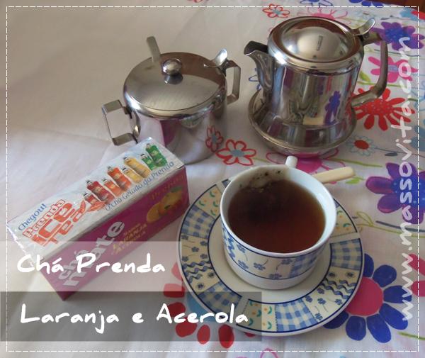 Chá de Laranja e Acerola