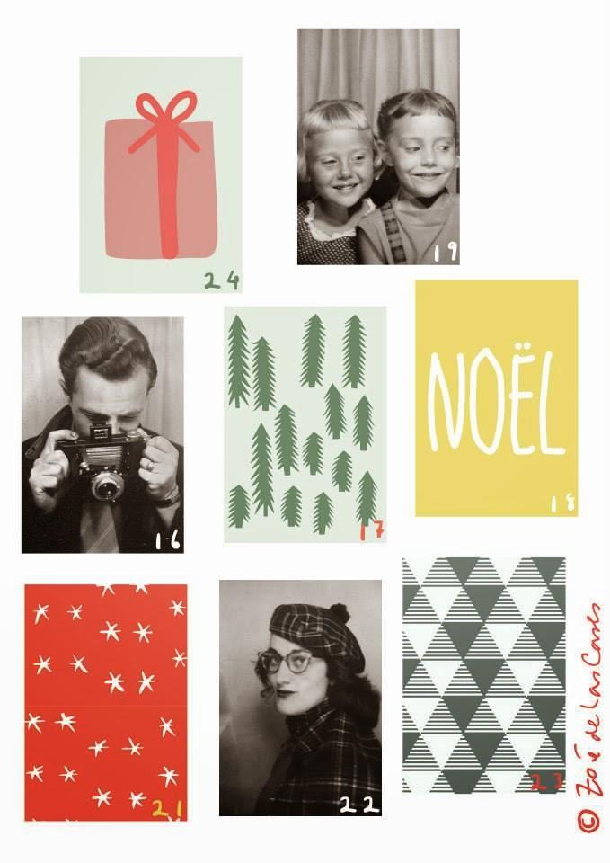 Pepper and buttons advent calendar by zoe de las cases - Zoe de las cases ...