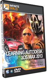 Learning 3ds Max 2013 Tutorial by PDF And DVD - Video Training