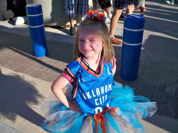 OKC Thunder Color Tutu!