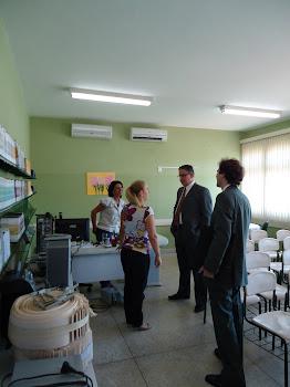 Visita do Secretário Risolia ao PTE