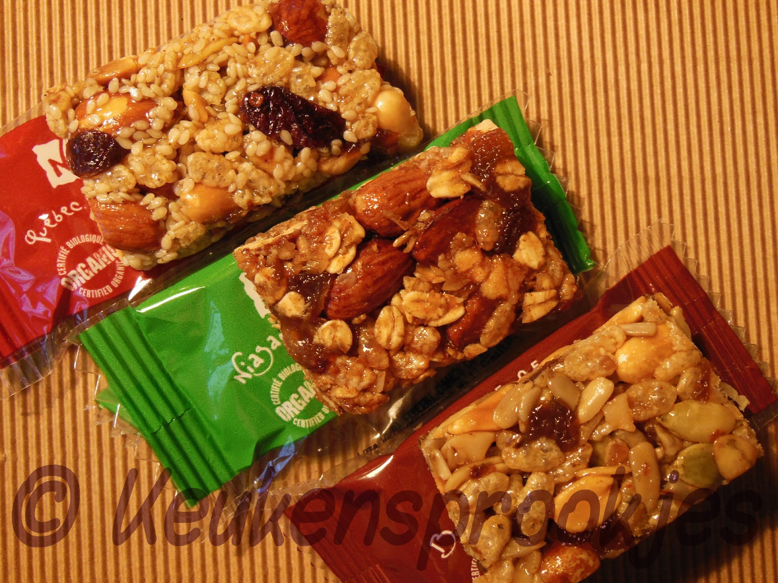 Keukensprookjes review organic food bars van taste of nature for J s food bar 01708