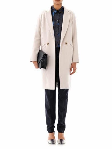 Freda Rae cocoon wool coat, $430