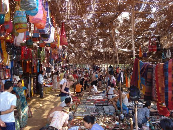 Goa Anjuna Flea Market
